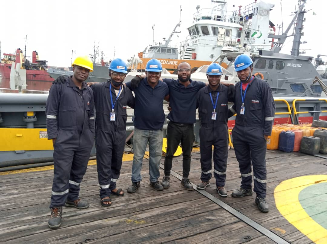 Xfontworks Resources, ICT & Security. Successful project completion on a moving vessel